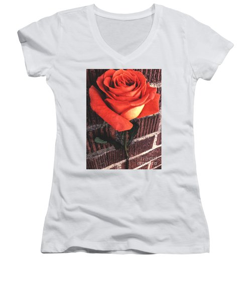 Wallflower Women's V-Neck (Athletic Fit)