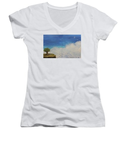 War And Peace Women's V-Neck