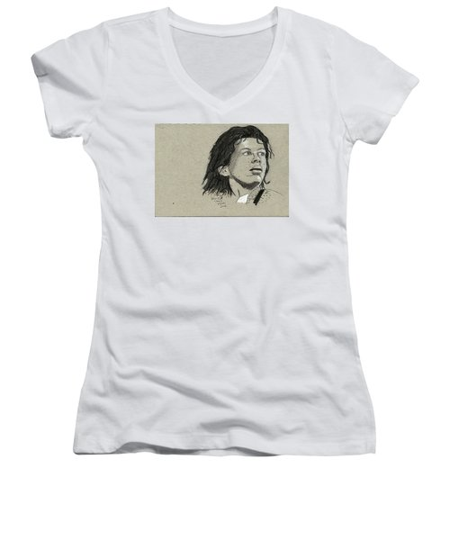 Warwick Davis Women's V-Neck T-Shirt