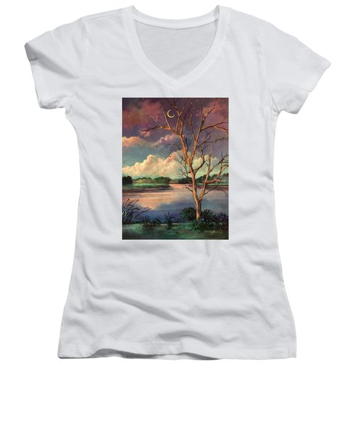 Was Like Stained Glass Women's V-Neck