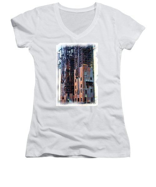Waterfront Decay One Women's V-Neck