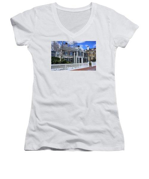 Waterhouse House In Cambridge Women's V-Neck