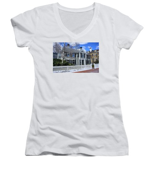 Waterhouse House In Cambridge Women's V-Neck