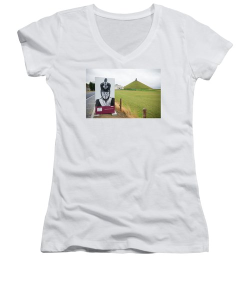 Waterloo Memorial Women's V-Neck T-Shirt