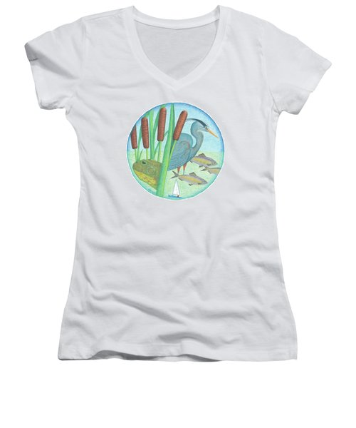 We Are All Connected Women's V-Neck