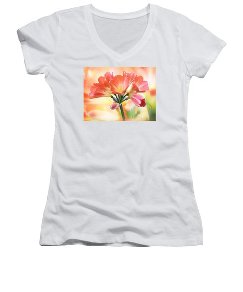 We Are Family Women's V-Neck (Athletic Fit)