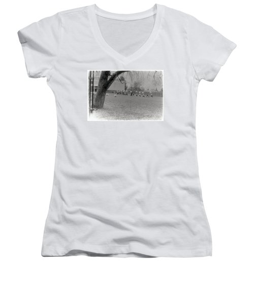 We Are The World Funny Photo Women's V-Neck