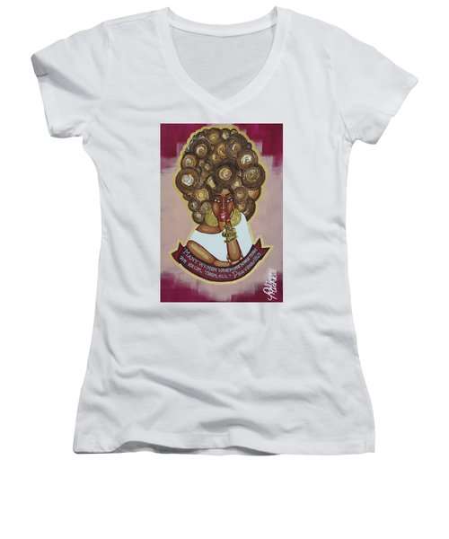 We Excel Them All Women's V-Neck