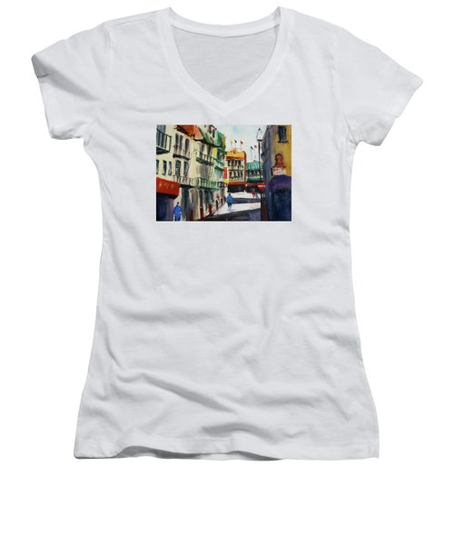 Waverly Place Women's V-Neck T-Shirt