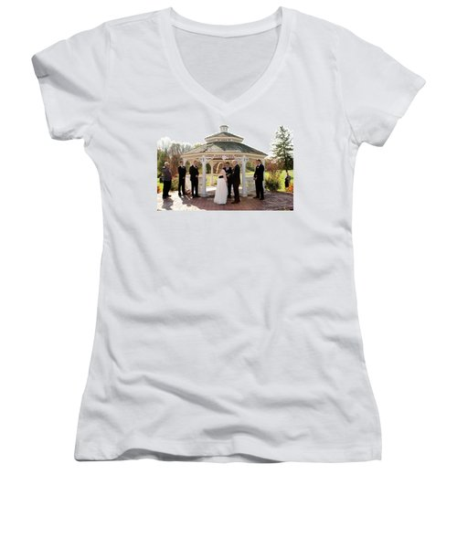 Wedding 2-3 Women's V-Neck (Athletic Fit)