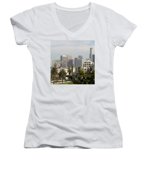 Westlake, Los Angeles Women's V-Neck (Athletic Fit)