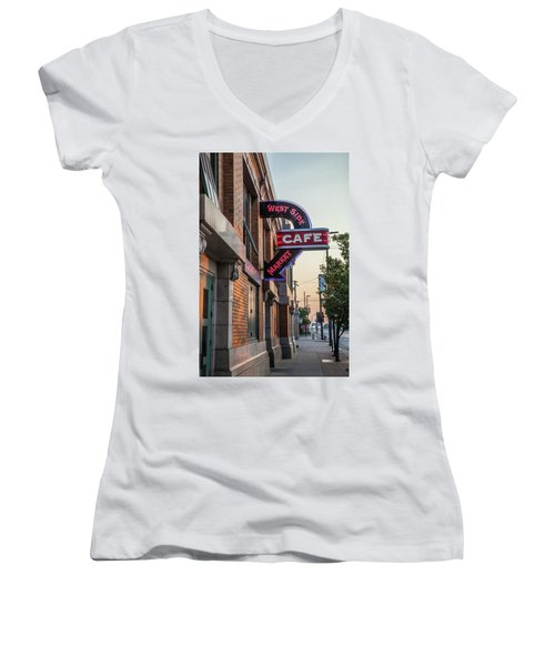 Westsidemarketcafe Women's V-Neck
