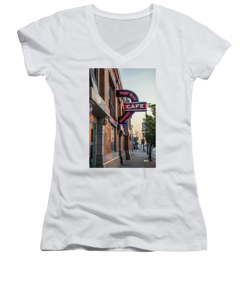 Westsidemarketcafe Women's V-Neck