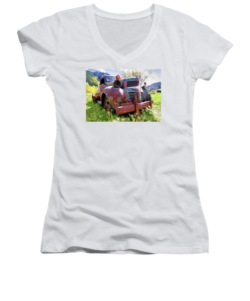 What A Great Time To Retire  Women's V-Neck (Athletic Fit)