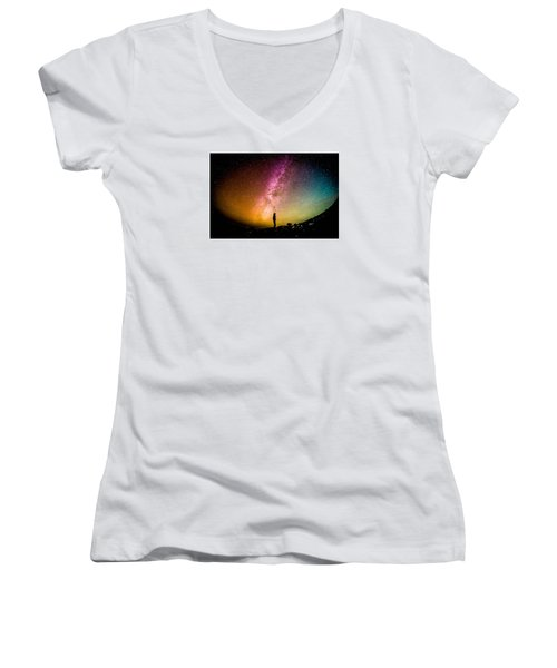 What I Saw Women's V-Neck T-Shirt