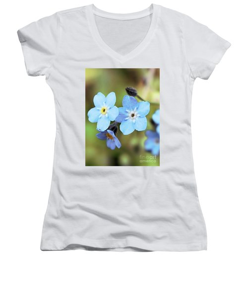 wild and Beautiful 4 Women's V-Neck T-Shirt