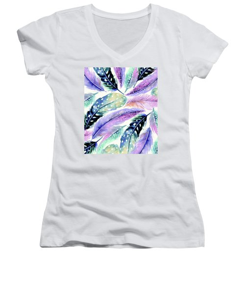 Wild Feathers Women's V-Neck T-Shirt