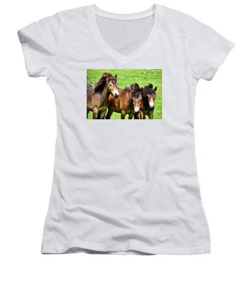Wild Horses 2 Women's V-Neck