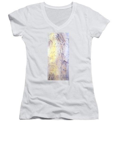 Wilderness Calligraphy - Aspen Tree Women's V-Neck