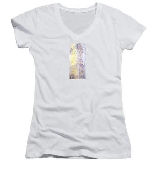 Wilderness Calligraphy - Aspen Tree Women's V-Neck