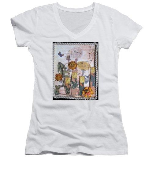 Wildflower Honey Women's V-Neck T-Shirt