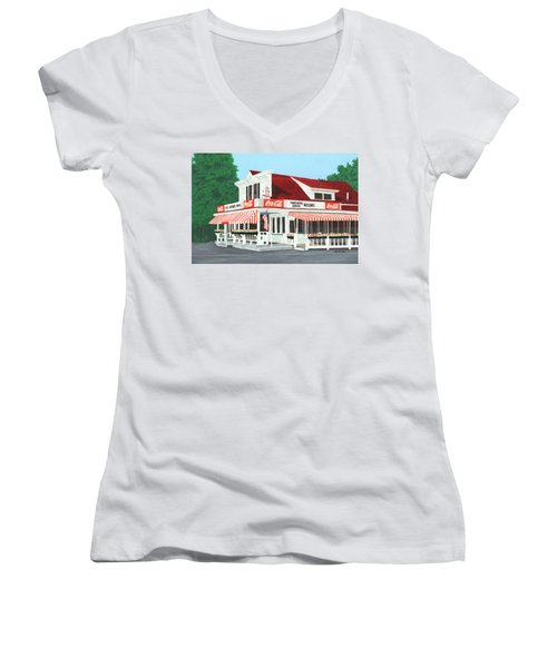Wilson's Women's V-Neck (Athletic Fit)