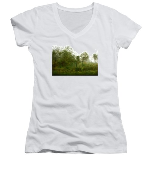 Wind Storm Women's V-Neck T-Shirt