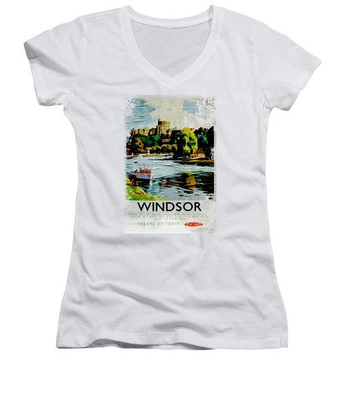 Windsor Women's V-Neck (Athletic Fit)