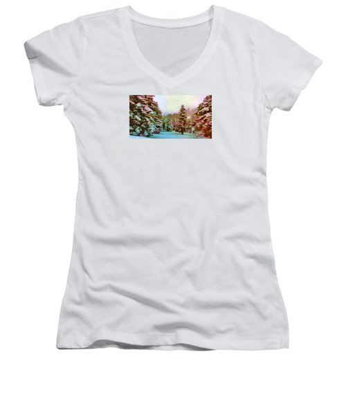 Winter Impressions Women's V-Neck (Athletic Fit)