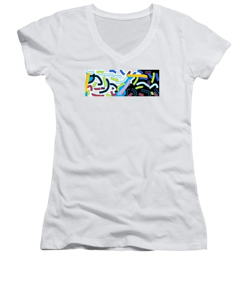 Wish - 42 Women's V-Neck (Athletic Fit)