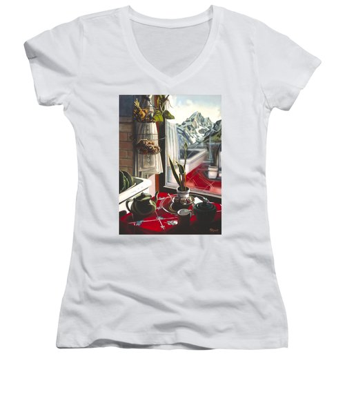 Wishful Thinking Women's V-Neck