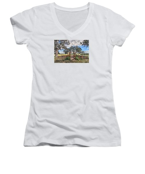 With This Ring... Women's V-Neck