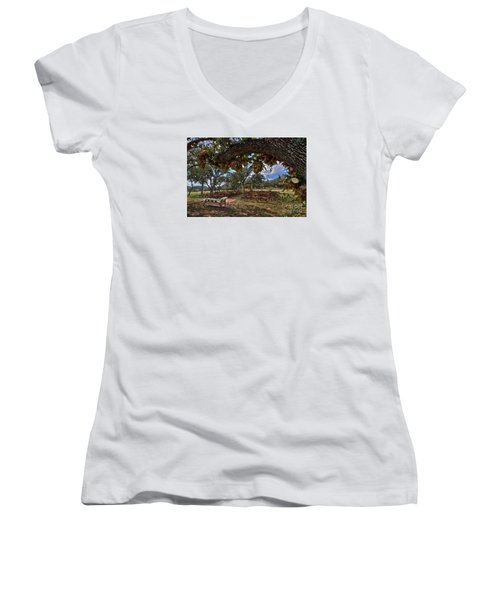 With This Ring...2 Women's V-Neck