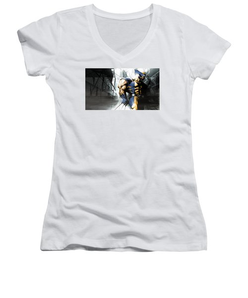Wolverine Women's V-Neck