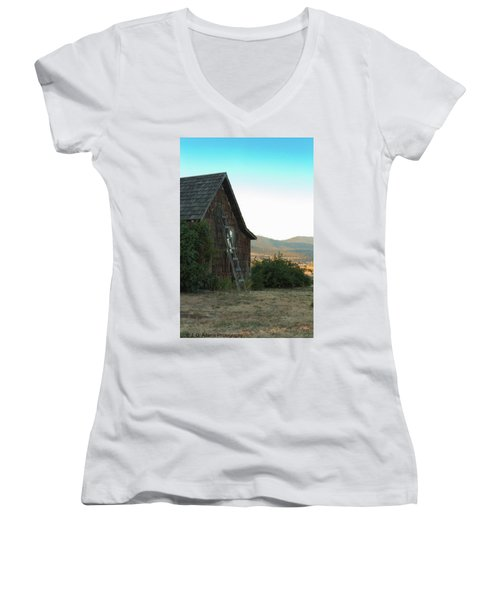 Wood House Women's V-Neck