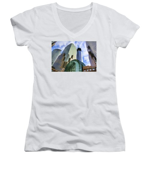 Wtc Nyc Construction I Women's V-Neck