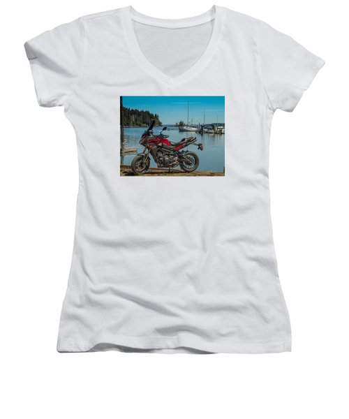 Yamaha Fj-09 .6 Women's V-Neck
