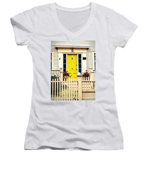 Yellow Door Women's V-Neck
