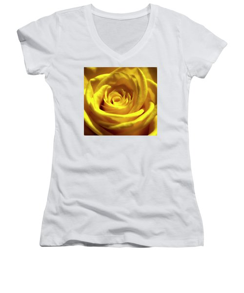 Yellow Dream 2 Women's V-Neck (Athletic Fit)
