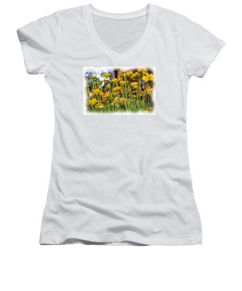 Yellow Fields Women's V-Neck