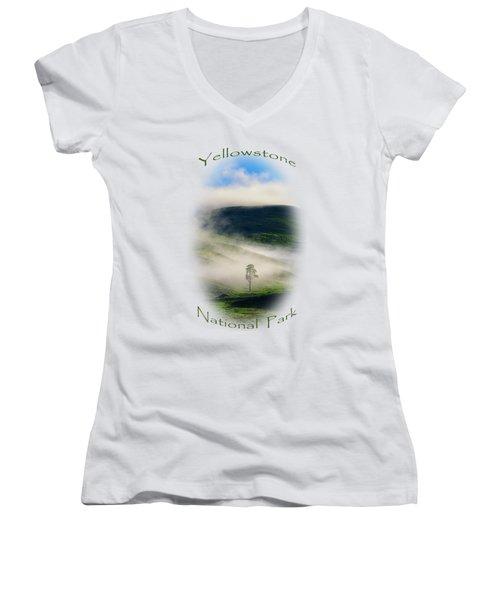 Yellowstone T-shirt Women's V-Neck