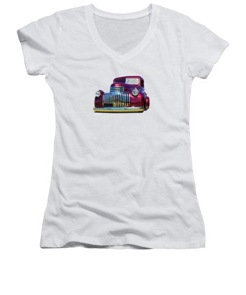 Yes Please Women's V-Neck T-Shirt
