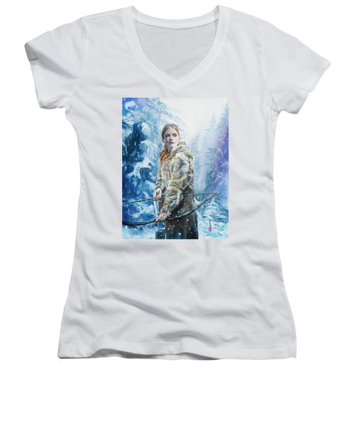 Ygritte The Wilding Women's V-Neck (Athletic Fit)