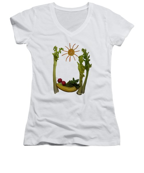 You And I Women's V-Neck (Athletic Fit)