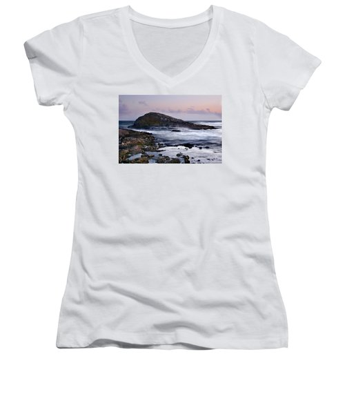 Zamas Beach #6 Women's V-Neck