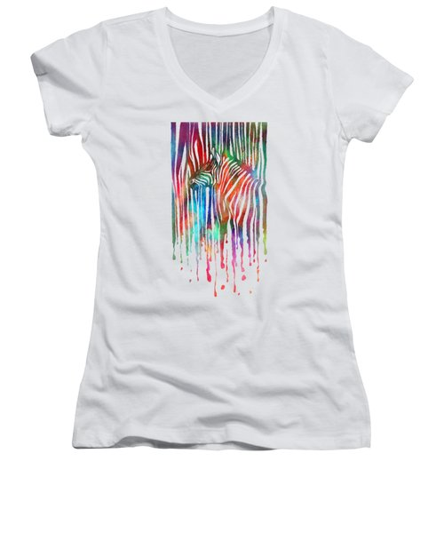 zeb Women's V-Neck T-Shirt (Junior Cut)