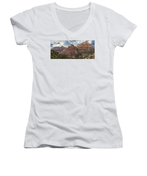 Zion National Park Switchback Road Women's V-Neck