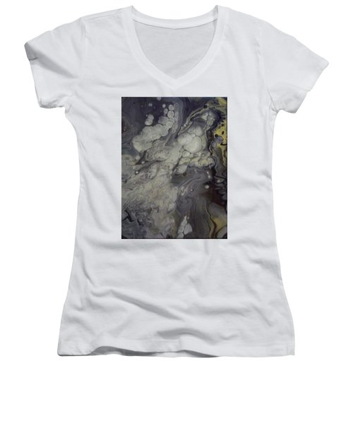 Abstract Women's V-Neck