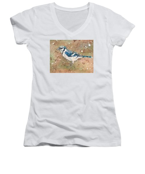 Blue Jay Women's V-Neck