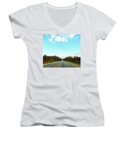 Collingwood In The Distance Women's V-Neck